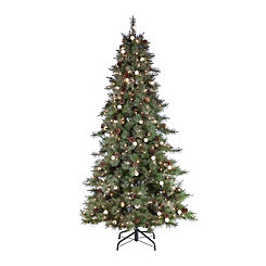 7.5 ft. Pre-Lit Arcadia Pine Christmas Tree