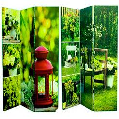 Garden Landscapes Room Divider