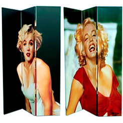 Marilyn in Color Room Divider