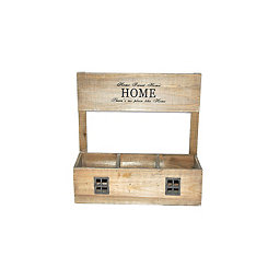 Wooden Home Sweet Home Planter