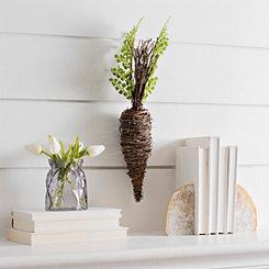 Natural Twig Hanging Carrot