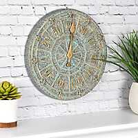 Gardenia Outdoor Wall Thermometer