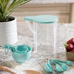 Turquoise Measuring Set