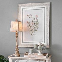 Pink Country Botanicals Framed Art Print