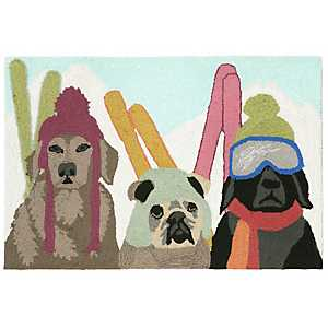 Ski Guides Indoor/Outdoor Accent Rug