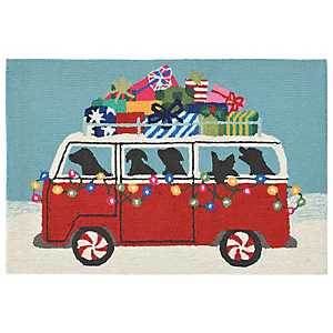Holiday on the Go Indoor/Outdoor Accent Rug