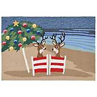 Beachside Christmas Indoor/Outdoor Accent Rug