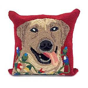 Deck the Dog Indoor/Outdoor Pillow