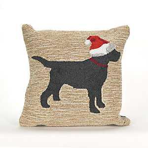 Santa Paws Indoor/Outdoor Pillow