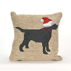 Santa Paws Indoor/Outdoor Pillow