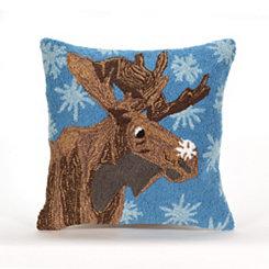 Arctic Moose Indoor/Outdoor Pillow