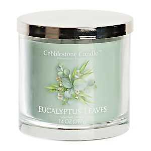 Eucalyptus Leaves Jar Candle