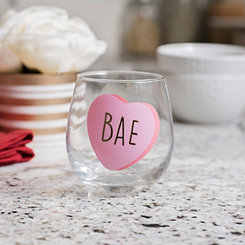 Bae Galentine's Day Wine Glass