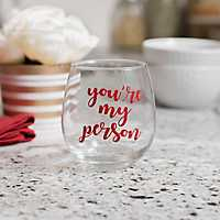 You're My Person Galentine's Day Wine Glass