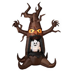 Inflatable Haunted Ghost Tree