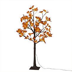 Maple Leaf LED Tree, 4 ft.