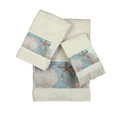 Coastal Moonlight Fingertip Towel