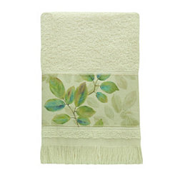 Waterfall Leaves Fingertip Towel