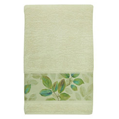 Waterfall Leaves Bath Towel