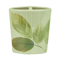 Waterfall Leaves Toothbrush Holder