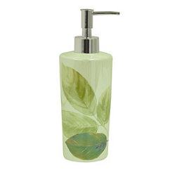 Waterfall Leaves Lotion Dispenser
