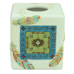 Southwest Boots Tissue Box Holder