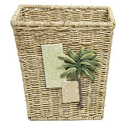 Citrus Palm Waste Basket