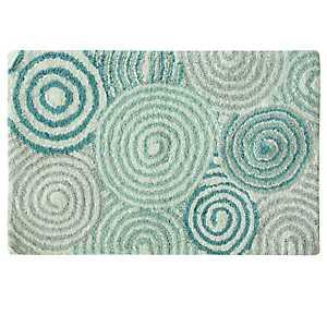 Teal Galaxy Cotton Bath Mat