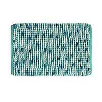 Blue Harper Microfiber Bath Mat