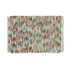 Coral Harper Microfiber Bath Mat