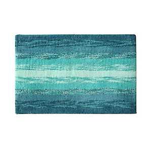 Blue Portico Cotton Bath Mat