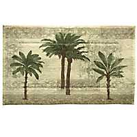 Citrus Palm Bath Mat