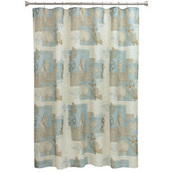 Coastal Moonlight Shower Curtain