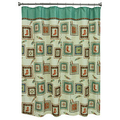 Southwest Boots Shower Curtain