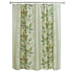 Waterfall Leaves Shower Curtain