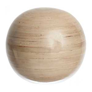 Large Champagne Bamboo Orb