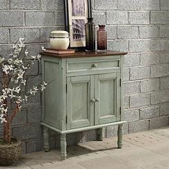 Ariana Blue 2-Door Cabinet