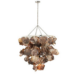 Capiz Waterfall Shell Chandelier