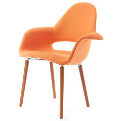 Orange Conrad Accent Chair