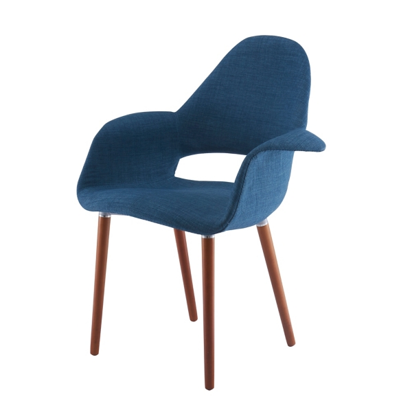 blue conrad accent chair