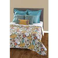 Bright Embroidery 8-pc. Queen Duvet Set