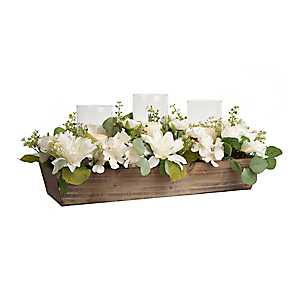 Dahlia Eucalyptus Centerpiece, 30 in.