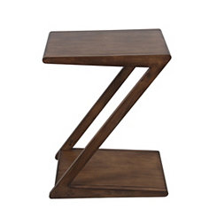 Pecan Wood Accent Table