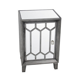 Mia Mirrored Accent Table