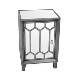 Mia Mirrored Accent Table