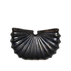 Black Fan Ceramic Vase