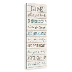 Life Canvas Art Print