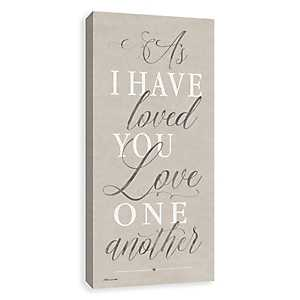 As I Have Loved You Canvas Art Print