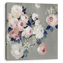 Bouquet in Blush Canvas Art Print