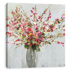 Vibrant Bouquet Canvas Art Print